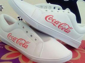 Tênis Coca Cola Novo, Número 35
