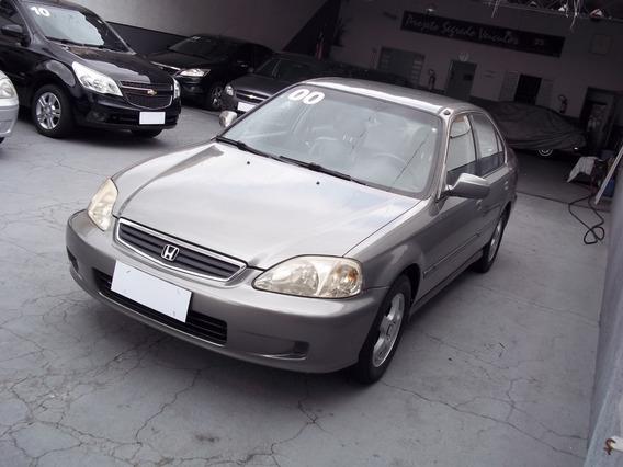 Lindo - Honda Civic Sedan Lx 1.6 - 2000 / 2000 Muito Novo
