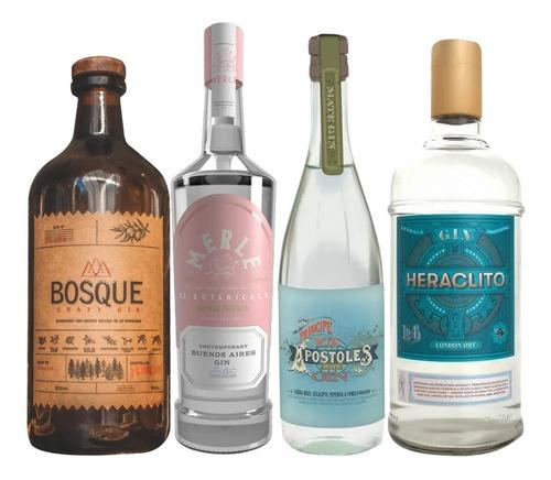 Gin Bosque + Merle + Principe De Los Apostoles + Heraclito