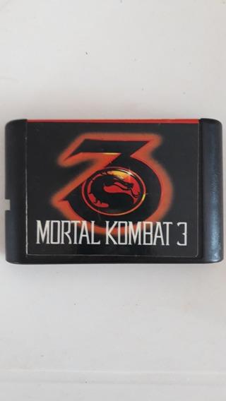 Cartucho Mortal Kombat 3 - Sega Mega Drive