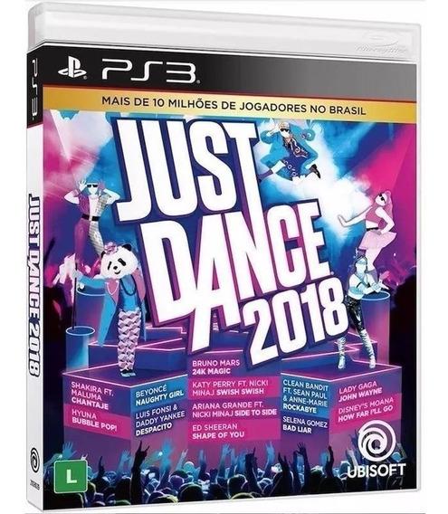 Just Dance 2018 - Midia Fisica Original E Lacrado - Ps3