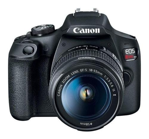 Canon EOS Rebel T7 Premium Kit DSLR color negro