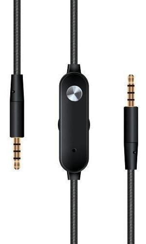 Cable De Audio 3.5 Con Control Y Micrófono - Manos Libres
