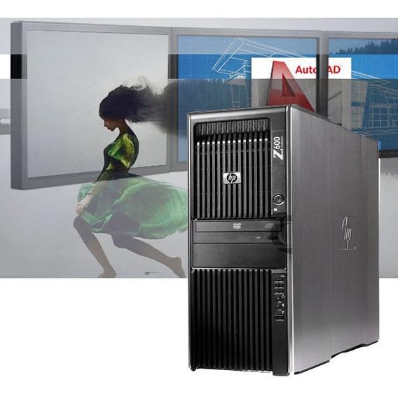 Workstation Hp Z600 Xeon E5630 4/8 Cores 16gb Ram Hd 1tb