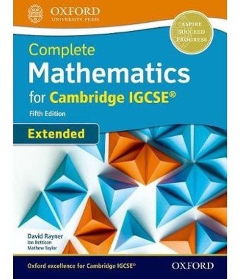 Complete Mathematics For Cambridge Igcse Extended - 5th Ed