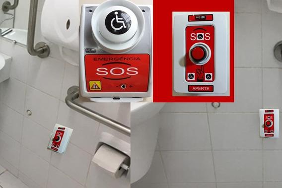 Alarme Ajuste Volume 6 Sons/pne Emergência Sanitário Sem Fio