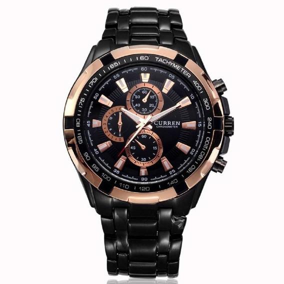 Reloj Curren 8023 Para Hombre Análogo Original Con Estuche