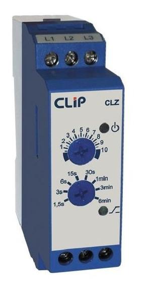 Relé Temporizador Clip Retardo Na Desenergização Clz