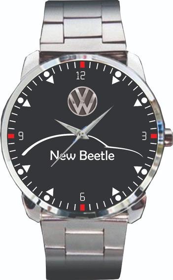 Relógio De Pulso Personalizado Vw New Beetle - Cod.vwrp012