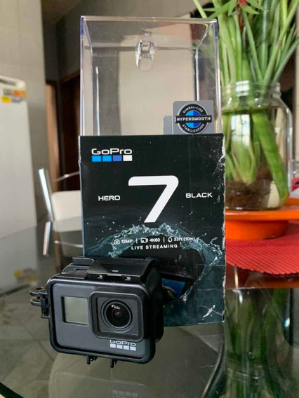 Gopro Hero 7 Black + Cartão 32gb + Bastão + Frame Vertical