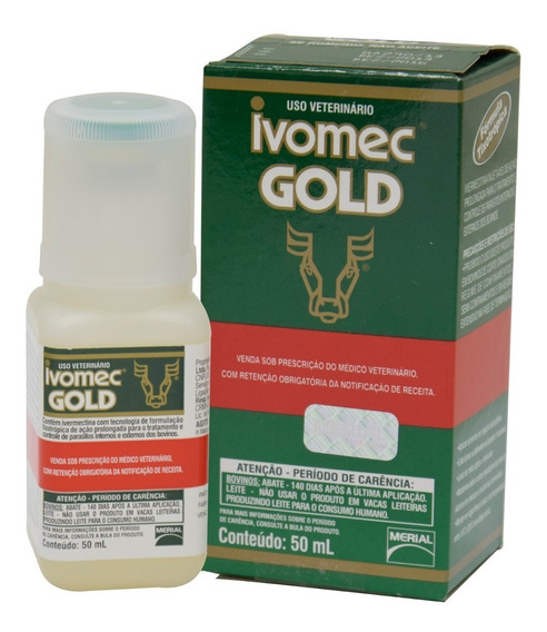 Ivomec Gold 50ml Injetável Original 3,15% Ivermectina
