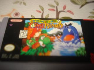Juego Super Mario World 2 Yoshis Island Ninten Snes No Envio