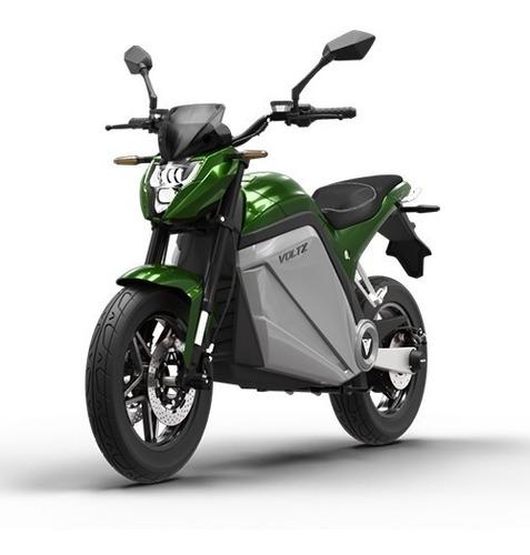 Moto Elétrica Evs Voltz Motors Verde - Uma Bateria