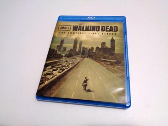 Blu Ray Série The Walking Dead Primeira Temporada Original