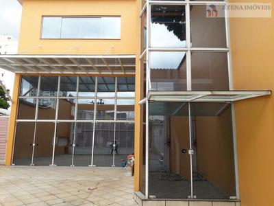Salão Comercial Para Locação, Penha De França, São Paulo. - Sl0004