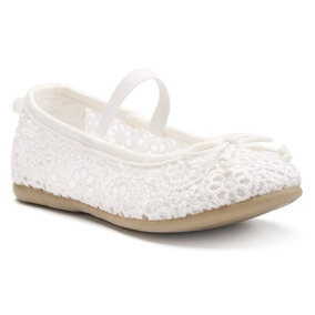 Carters - Zapato Niña Blanco Ideal Para Bautizo O Ceremonia