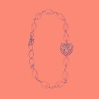 Pulseira Dourada Pérola Quartzo Rosa Com Zircônia - Pl040012