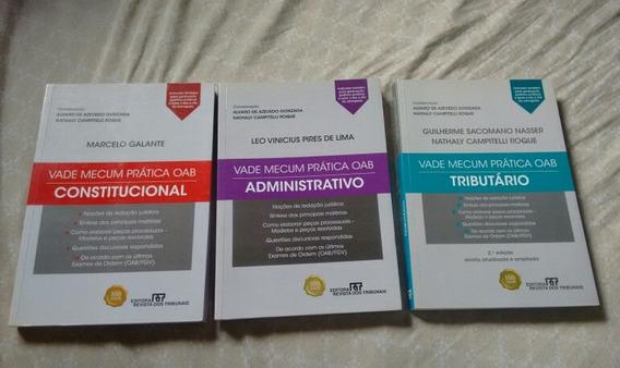 Livros Vade Mecum Prática Oab Lote Com 3 Livros