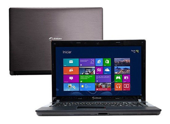 Notebook Zmax Amd Dual Core 4gb 500gb Tela Led 14 Win 8.1