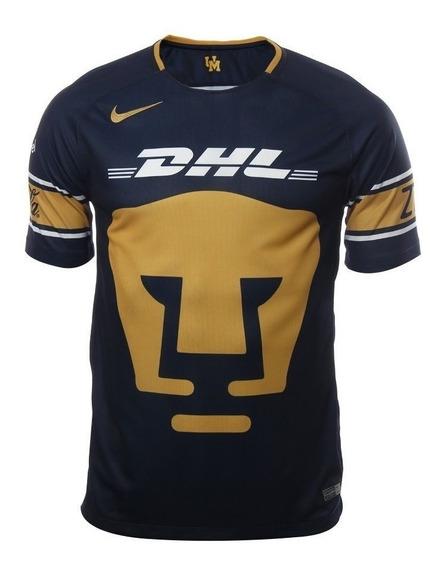Jersey Playera Nike De Pumas De Unam Azul Original