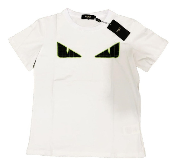 Playera Fendi White Eye Envio Gratis