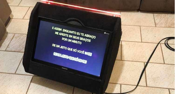 Monitor Led Retorno De Palco