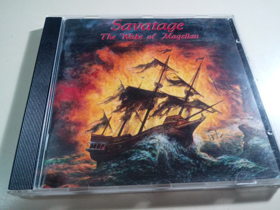 Savatage - The Wake Of Magellan - Made In Germany