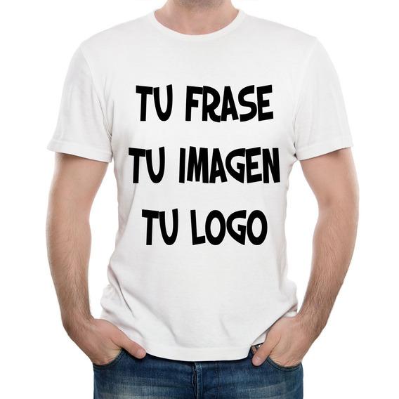 Remera Personalizadas Estampada Sublimada Tu Logo Tu Imagen