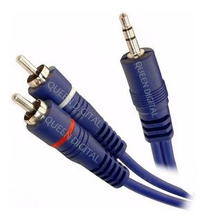 Cable Miniplug 3.5mm A Rca Premium Calidad 3mt