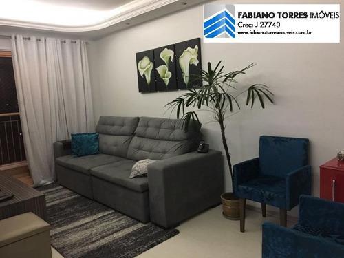 Apartamento Para Venda Em São Caetano Do Sul, Centro, 3 Dormitórios, 1 Banheiro, 2 Vagas - 1336_2-544617