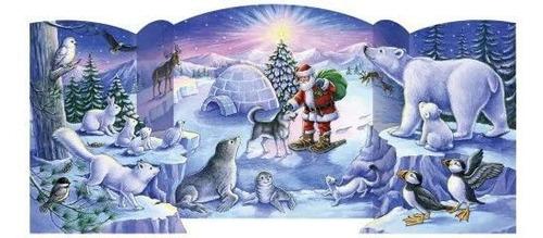 Imagen 1 de 3 de Vermont Empresa De Navidad Polo Norte Amigos Con Patas Calen