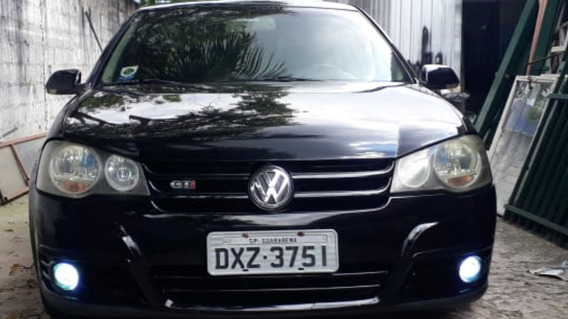 Vw Golf Gti 1.8 Turbo 5p Manual 2008 Completo+couro