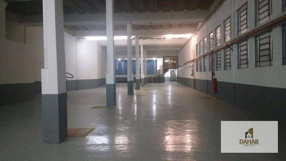 Salão Comercial Para Locação, Jardim Monte Alegre, Taboão Da Serra. - Sl0013