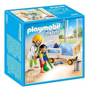 Playmobil 6661 Doctor Con Niño En Stock