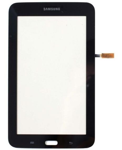 Tela Touch Screen Sm-t110 T110 Samsung Tab 3 Lite Preto