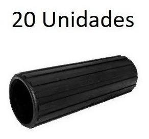 20 Ponteira Pisante Pvc 2 X180mm Estriada P/ Equip. Fitnes