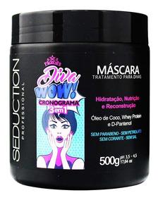 Máscara Diva Wow Cronograma 500g Seduction Professional