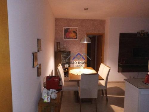 Imagem 1 de 23 de Apartamento À Venda, 74 M² Por R$ 550.000,00 - Jardim Trevo - Jundiaí/sp - Ap1824