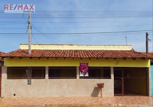 Casa Com 4 Dormitórios À Venda, 157 M² Por R$ 175.000,00 - Vila Sao Geraldo - São Manuel/sp - Ca0070