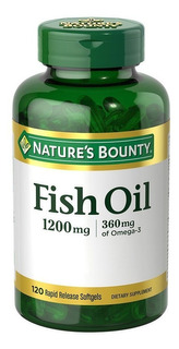 Fish Oil 1200mg Omega 3 Natures B Aceite De Pescado X60 Cap