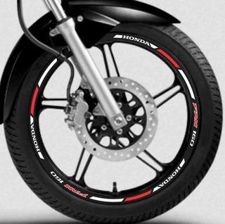 Kit Adesivo Friso Refletivo Honda Fan 160 150
