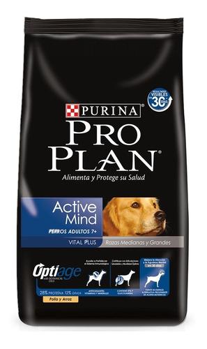 Imagen 1 de 2 de Comida Perro Pro Plan Active Mind 15kg + Obsequio +  Envío