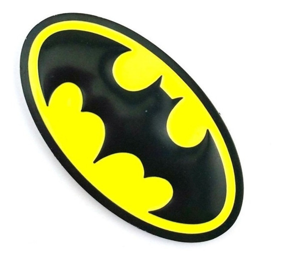 Emblema Batman Adesivo 3d Carro Metal Alto Relevo