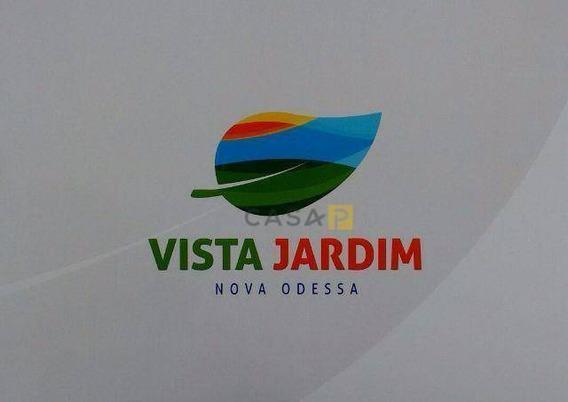 Terreno À Venda, 674 M² Por R$ 335.000,00 - Vista Jardim - Nova Odessa/sp - Te0386