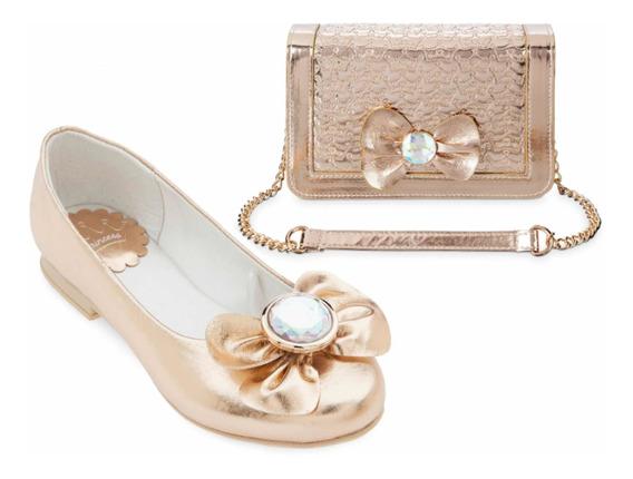 Bolsa Zapatos Para Niña Original De Disney Store