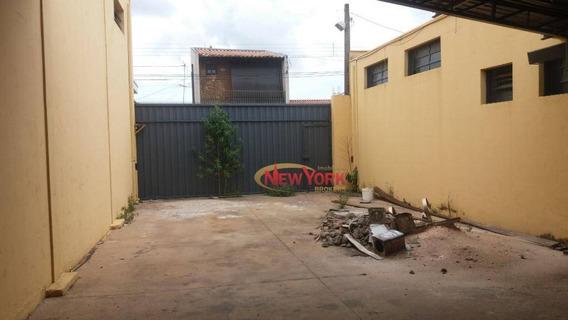 Barracão Para Alugar, 600 M² Por R$ 4.900/mês - Vila Jacobucci - São Carlos/sp - Ba0030