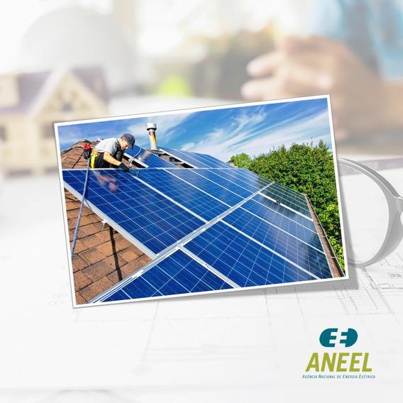 Projeto Elétrico Pronto Para Homologação De Energia Solar