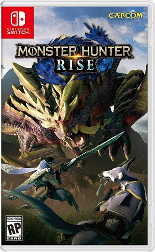 ..:: Monster Hunter Rise ::.. Nintendo Switch