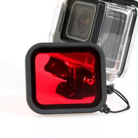 Filtro Gopro Hero 3+ 4 De Luz Mergulho Red Dive Filter Top