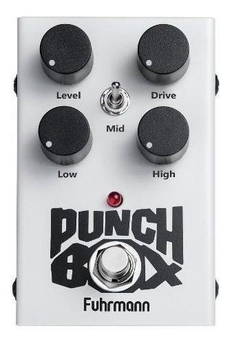 Pedal Punch Box Distorção Fuhrmann Super Lançamento 2019
